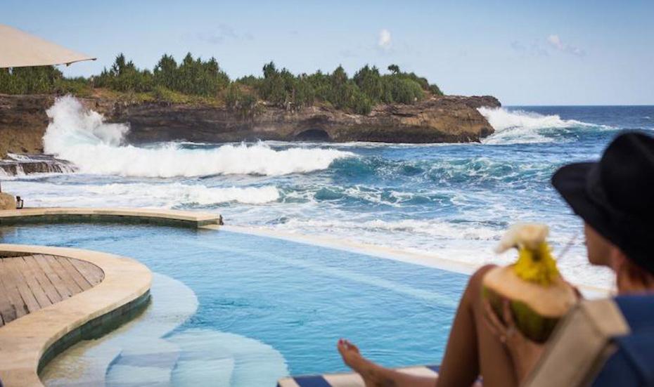 Bali's best beach clubs - Sandy Bay Nusa Lembongan