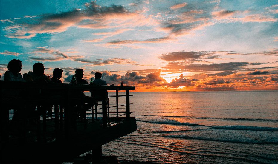 best sunset bars in Bali - Single Fin Uluwatu