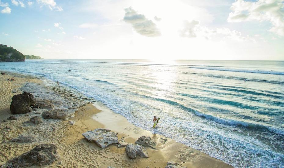 Best Beach in Bali - Bingin