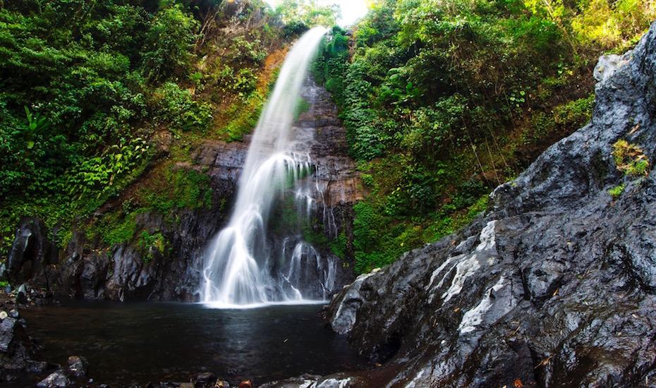Bali waterfalls - GitGit
