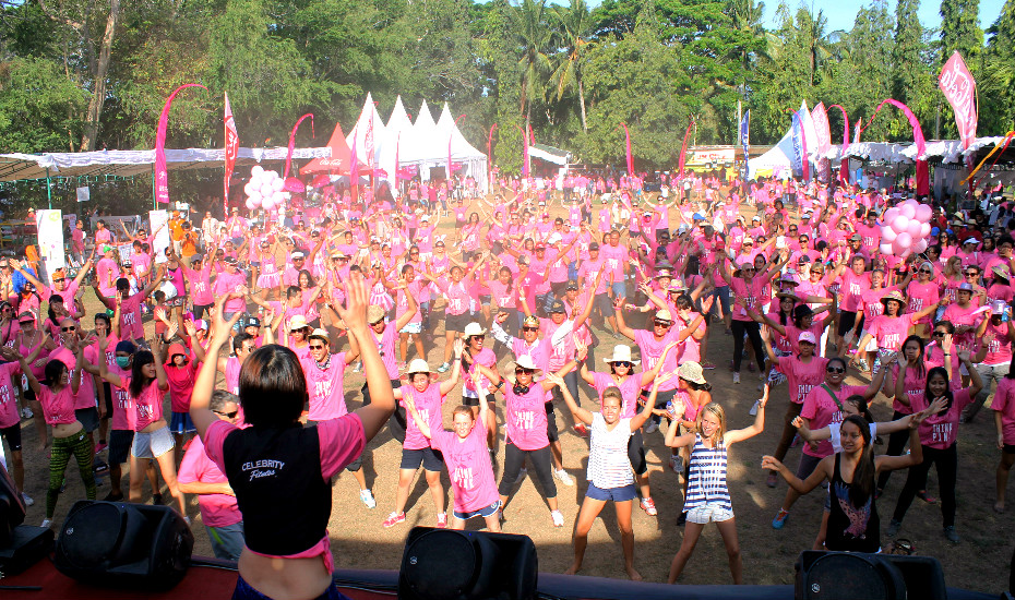 Join hundreds of other women in the fight against breast cancer!