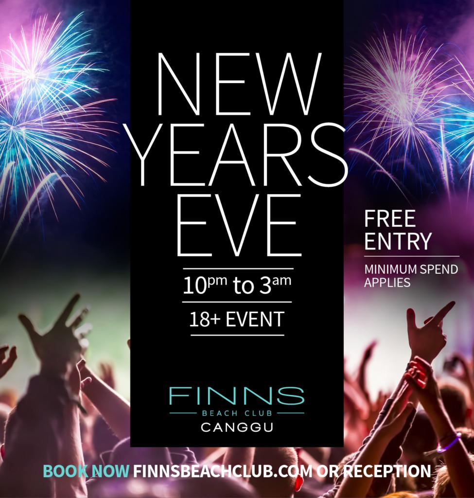 New Years Eve at Finns Beach Club