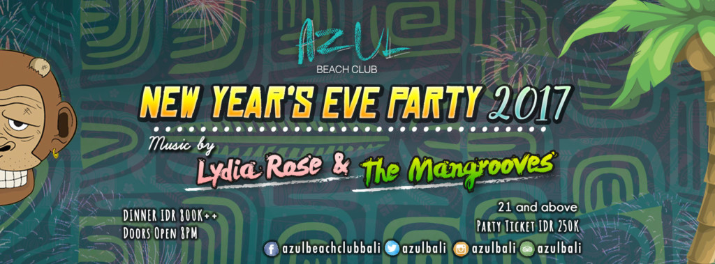 New Year's Eve Party at Azul