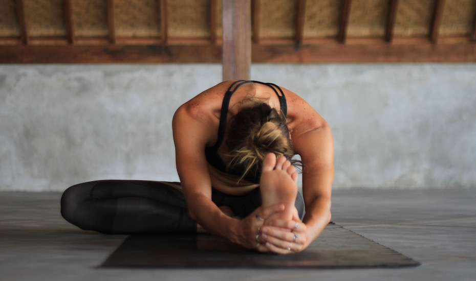 The Half Butterfly - Yin Yoga Pose