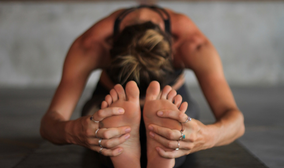 Forward Fold - Yin Yoga Pose