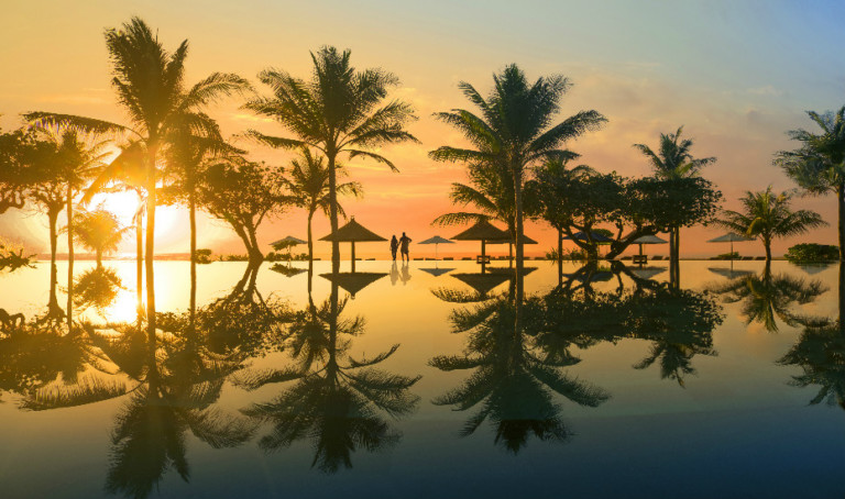 Romantic Stays in Bali: Intimate beach dinners, weddings, honeymoons & a romantic spa at a luxe Nusa Dua resort