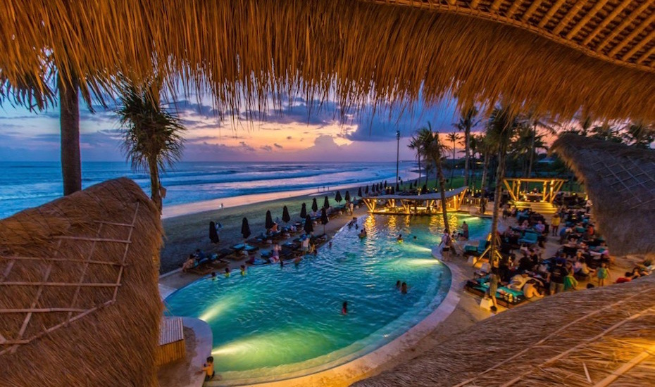 Things to do in Bali: Visit this beach club in Canggu for cocktails, infinity pool swims and the perfect sunset
