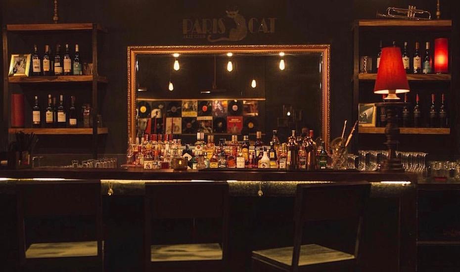 Paris Jazz Cat Cafe