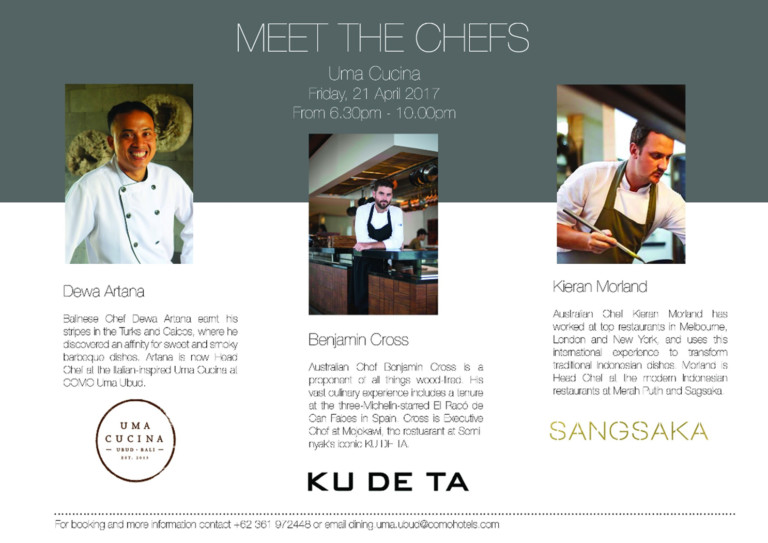 A NIGHT WITH BALI'S TOP CHEF'S