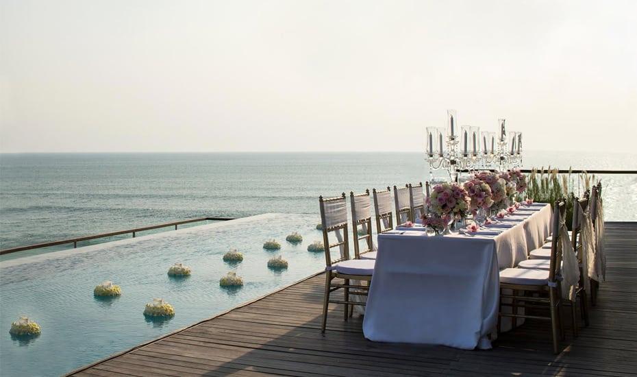 巴厘岛最适合婚礼的酒店 Alila Seminyak(阿丽拉水明漾)