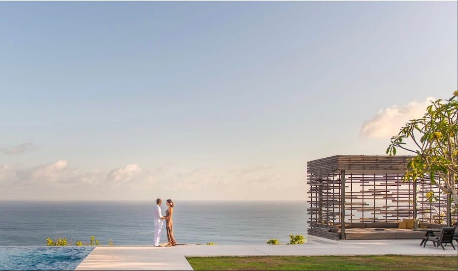 Alila Villas Uluwatu - one of the best wedding venues in Bali, Indonesia