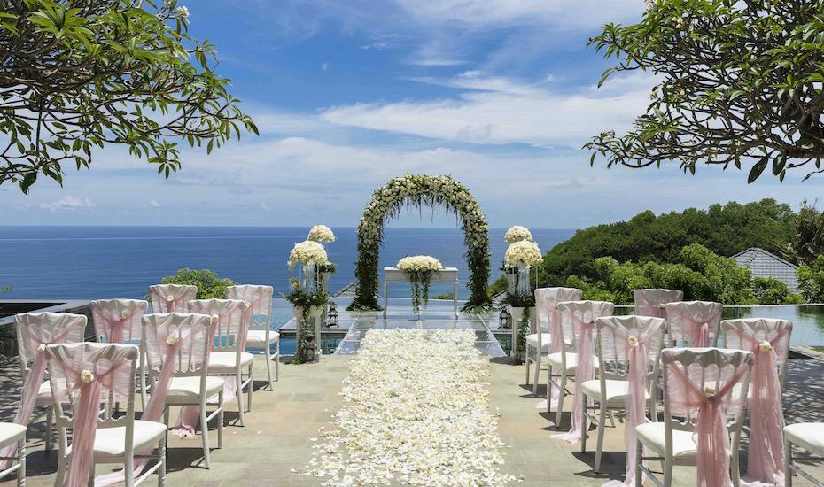 巴厘岛最适合婚礼的酒店-Banyan Tree Ungasan(悦榕庄昂格桑酒店)