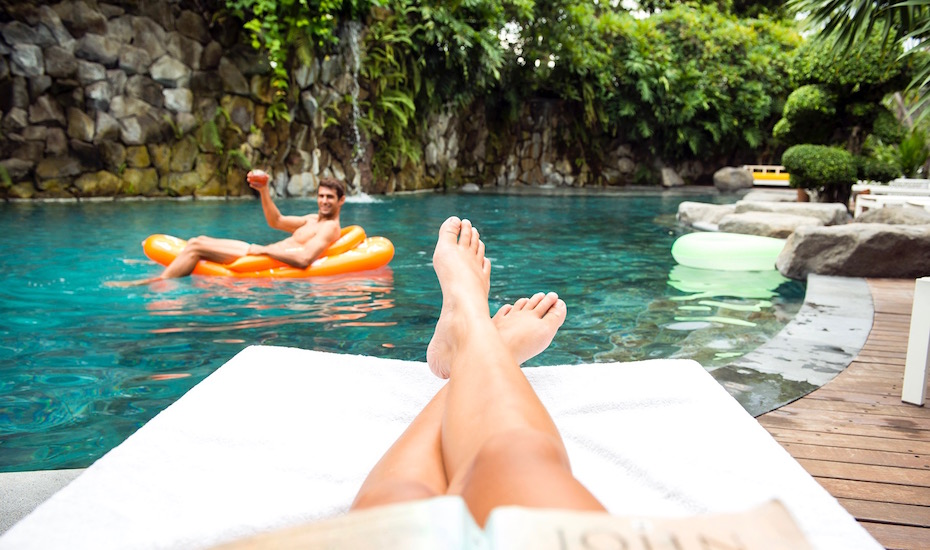 Live the life of luxury at Peppers Seminyak in Bali, with a group package deal for you and your entourage!