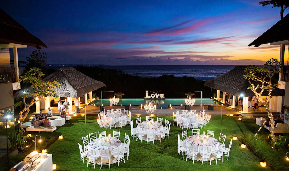 Wedding Venues In Bali 6 Luxury Villas With Stunning Sunset