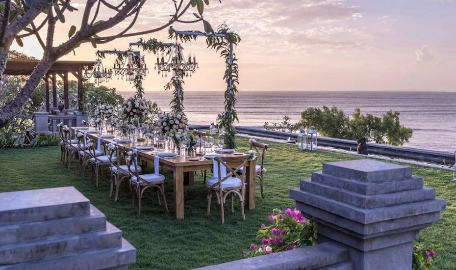 巴厘岛最适合婚礼的酒店之一Four Seasons Resort Bali at Jimbaran Bay(金巴兰海湾巴厘四季酒店)