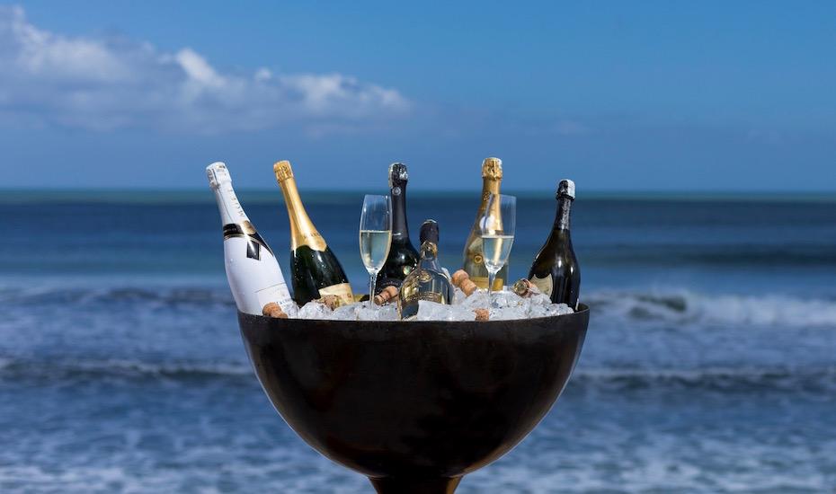 The Ocean Champagne Bar at The Legian Bali - date night