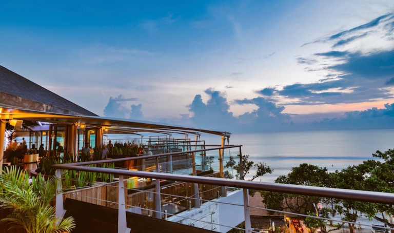 Rooftop Bars in Bali: The Rooftop Sunset Bar at Double-Six is taking you back to the wonder years with cool retro tunes and old-school vibes from sunset 'til late