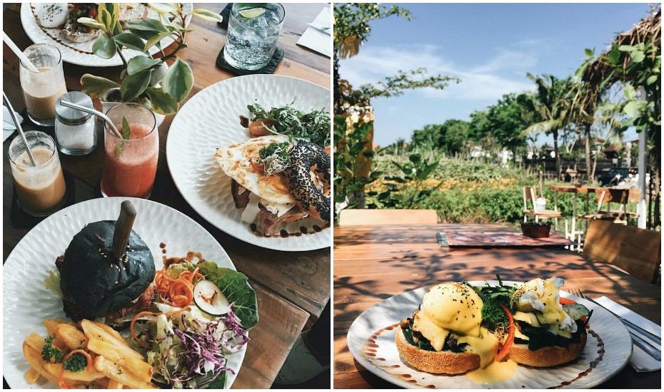 Best Canggu cafes - Milu by NOOK - Bali