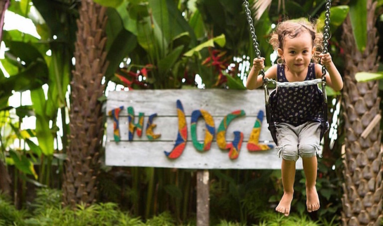 Graze the day away at The Joglo – Bali's tropical cafe, playground, wholefoods market and pilates studio all under one teak-wood roof