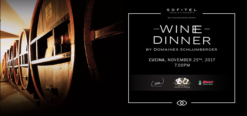 Wine Dinner by Domaines Schlumberger | Honeycombers Bali