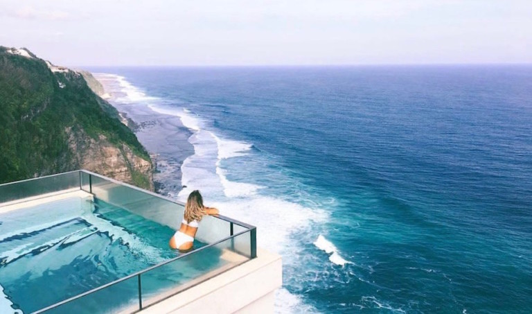 Hot News: Oneeighty at The Edge is Bali's brand new glass-bottom, sky-touching infinity pool – only dip if you dare!