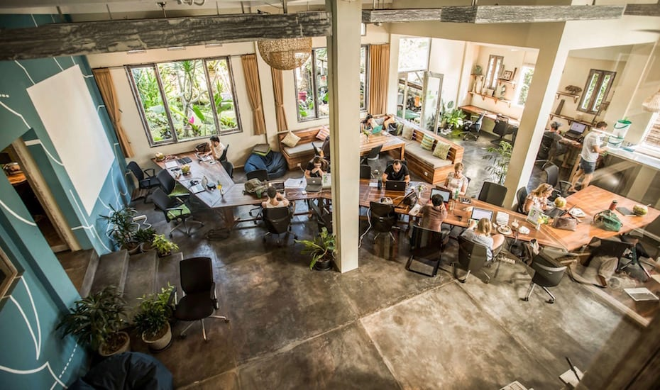 Co-working spaces in Bali - Outpost Ubud & Canggu