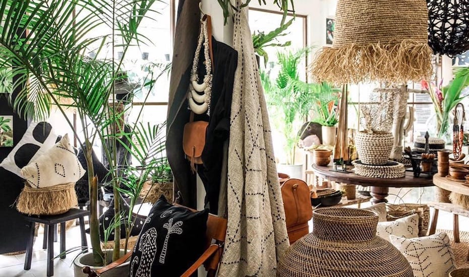 Homewares shopping in Bali - Jungle Trader Canggu