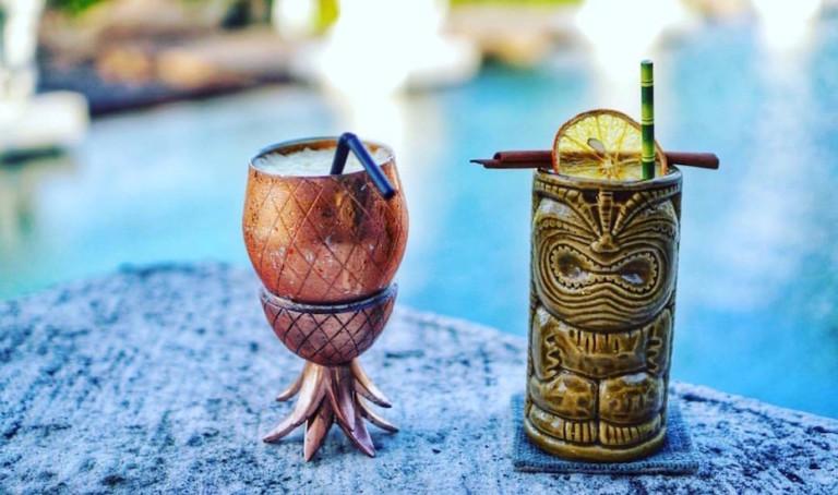 Happy Hour of the Week in Bali: Tiki Thursdays at AZUL Beach Club, Legian Beach