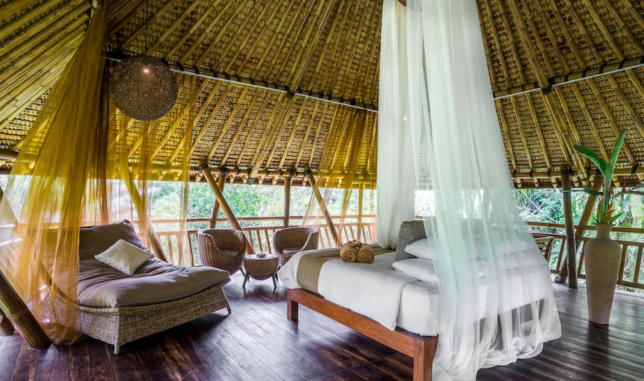 Villa Crush of the Month: The Harmony Tree House at Alassari Plantation is a real jungle gem!