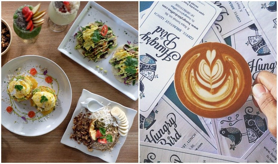 Best Canggu cafes - Hungry Bird - Bali