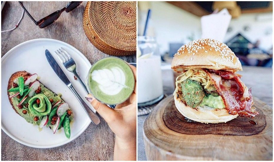 Best Canggu cafes - The Avocado Factory - Bali