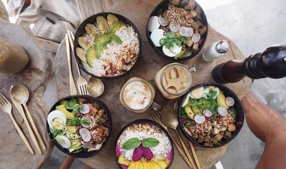 Best Canggu cafes - Bali Bowls