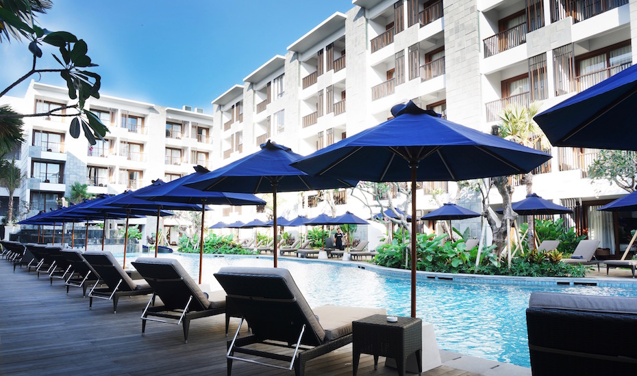 Where to stay in Seminyak - Courtyard by Marriott Bali