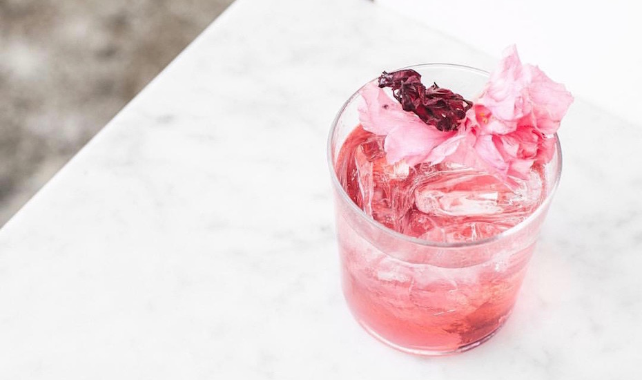 Cocktail of the Week: We're tickled pink by this gorgeous concoction from The Slow, Canggu