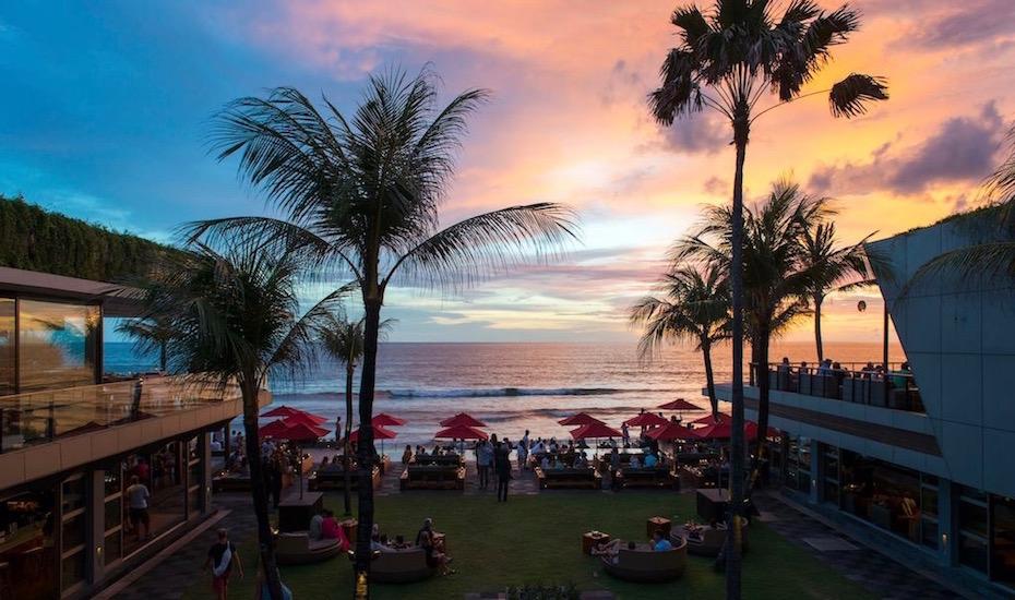 best sunset bar in Bali - ku de ta seminyak