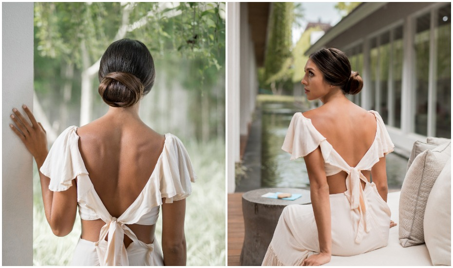 bridal hair styles at Spring Spa in Canggu - one of the best hair salons in Bali, Indonesia