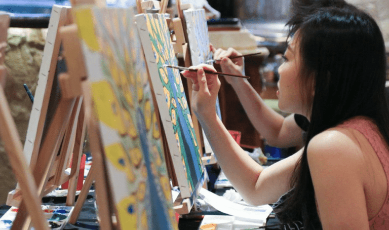 Fun workshops to sign up for in Jakarta: Calligraphy, painting, pottery and more
