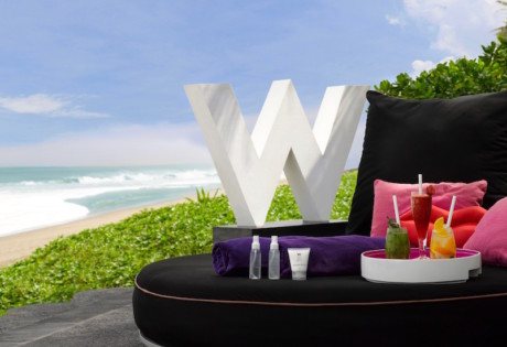 Woobar Bali W Seminyak Cocktails On The Beach