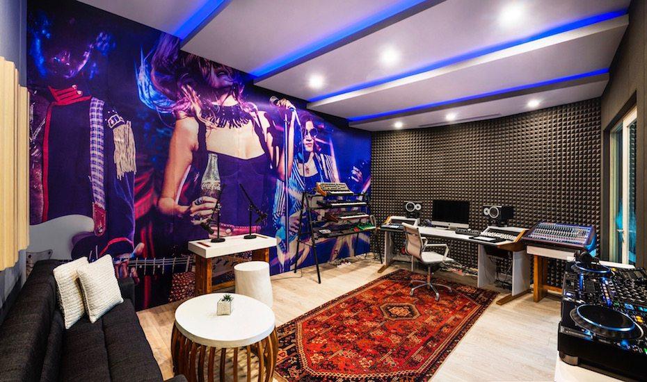 recording studio at W Bali Seminyak