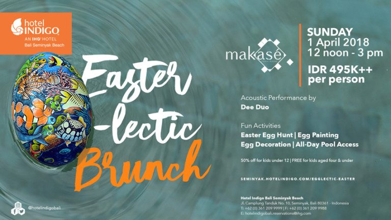 Celebrate Easter with Egglectic Feast