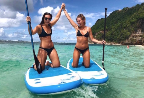 Best Beach Club in Bali - Sundays Stand Up Paddle Boarding
