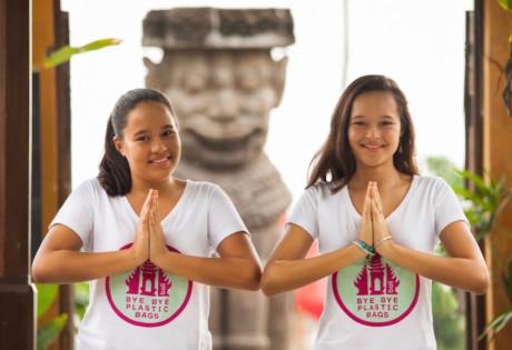 Bye By Plastic Bags Bali Girls