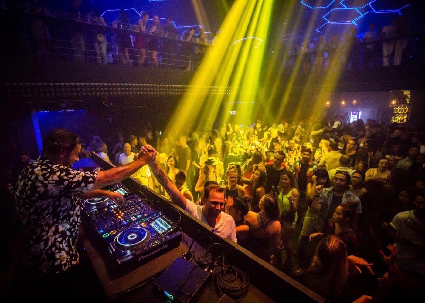 The Lost City Bali nightclub with live DJ in Canggu, Bali, Indonesia