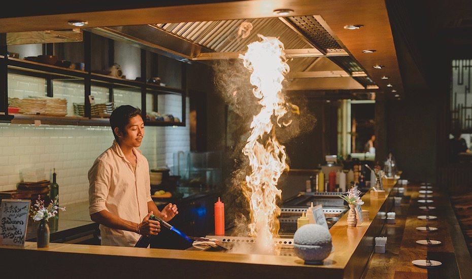 Teppanyaki Japanese Restaurant in Bali: Rayjin