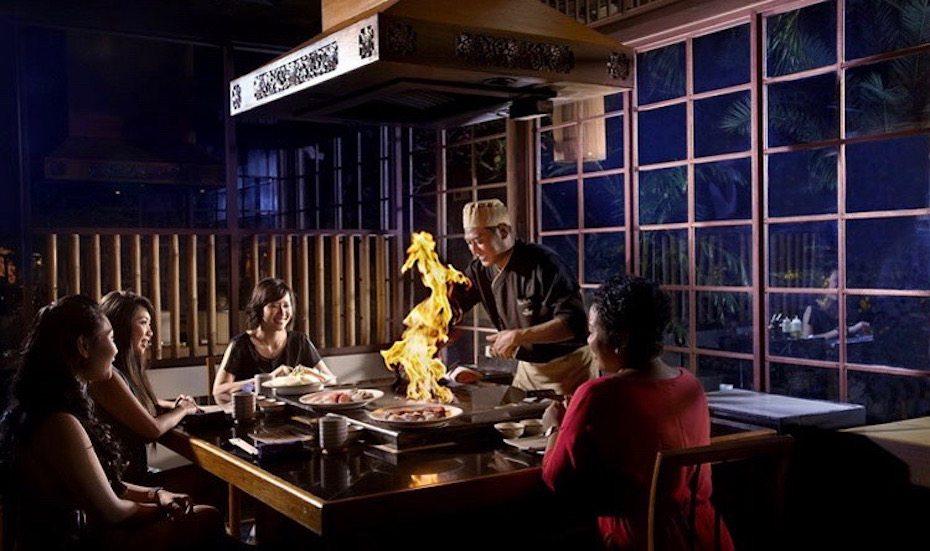 Teppanyaki Japanese Restaurant in Bali: Tenkai padma legian