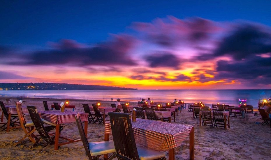 Best Beach in Bali - Jimbaran Bay