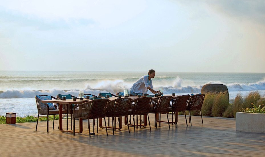Sunday brunch in Bali - seafood brunch at Seasalt Seminyak