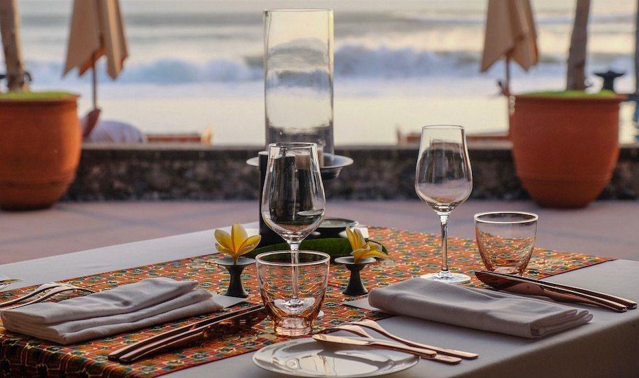 Risjttafel Dinner at The Legian Bali - date night