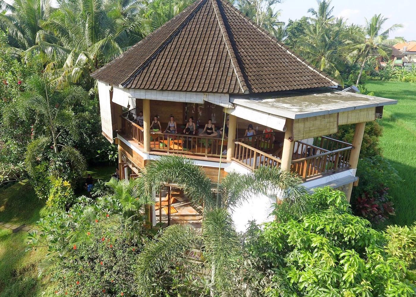 Studio at Ubud Yoga House in Bali, Indonesia