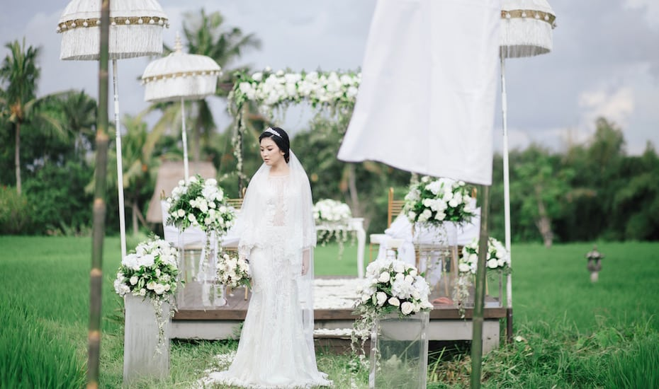 The Chedi Club Tanah Gajah Ubud Bali - wedding